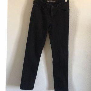 LEVI's | Black mid-rise slim jeans